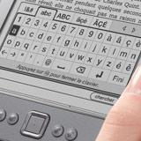 clavier intégré du Kindle