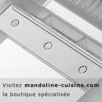 La mandoline : un outil pour gagner du temps en cuisine
