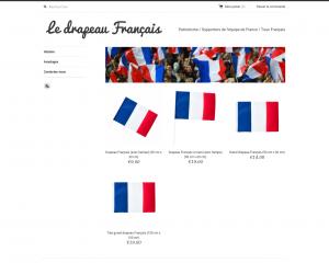 Commandez un drapeau français pas cher