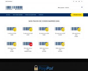 Comment acheter un code barre pas cher ?