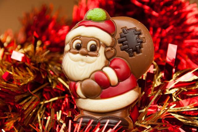 chocolat pere noel